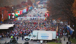 Clear Sound at the Philadelphia Marathon