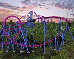 The Banshee at Kings Island in Warren County, Ohio