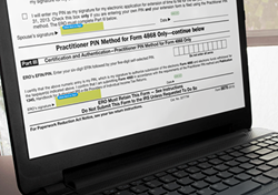 SIGNiX's digital signature products exceed newly published IRS standards for electronic signatures on forms 8878 and 8879 for e-filing tax returns.