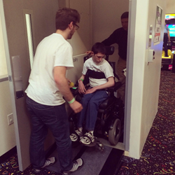 Jungle Rapids' new wheelchair lift installed by 101 Mobility