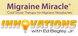 Innovations with Ed Begley Jr to Showcase Migraine Miracle® in...