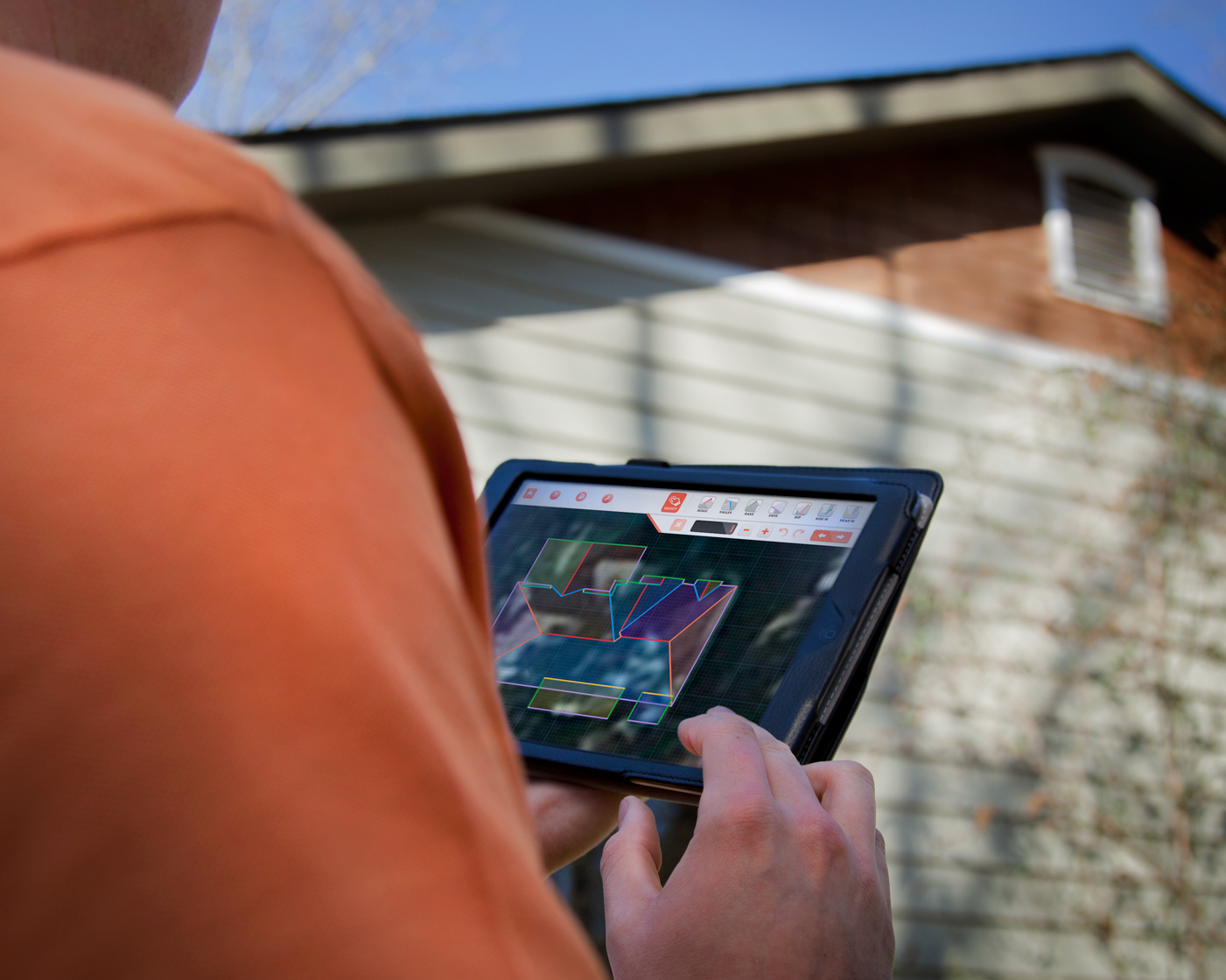 Techtoolbelt launches three mobile apps for the roofing for Roof drawing app