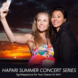 Hapari Swimwear Summer Concert Series Giveaway