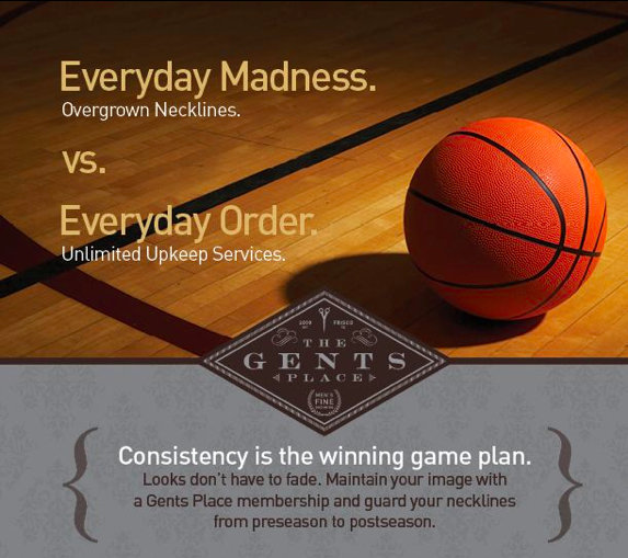 The Gents Place Announces March Madness Bracket Challenge