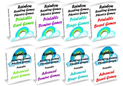 rainbow reading games review
