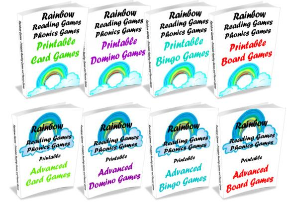 photo regarding Printable Reading Games titled Rainbow Looking through Game titles Examine How towards Make improvements to Childrens