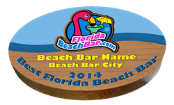 Top 10 Florida Beach Bar Award