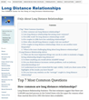 Long Distance Relationship Resource Launches for Couples and...