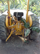 Our tractor in Haiti