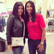 """Daniela Rowson with Cookie Johnson"""