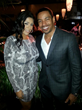 """Daniela Rowson with Laz Alonso"""