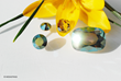 new swarovski special effect crystal iridiscent green 001IRIG