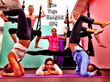 Aerial Yoga Soars into Sarasota Circus Town--Studio South Fitness...