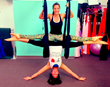Aerial Yoga at Studio South Fitness, Sarasota, Florida