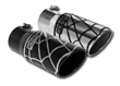 Spyder Industries Black Widow Exhaust Tips