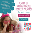 Once Upon A Child Oak Brook Hosts Oh La La! Fanciful Fashion Contest...