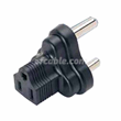 South Africa/India 3 prong plug to NEMA 5-15R 3-prong USA receptacle