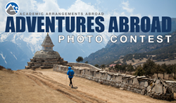 Logo for Adventures Abroad Photo Contest