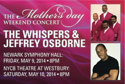 Celebrate Mother's Day at The Mother's Day Weekend Concert, playing in New York and New Jersey on May 9 and 10.