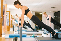 Lengthen the spine using Pilates