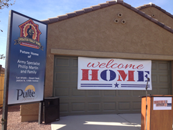 Beltmann Group and Pulte Homes assists wounded veteran