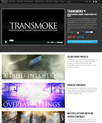 Professional Smoke Transitions for Final Cut Pro X from Pixel FIlm Studios