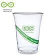 Green Stripe Cold Cup