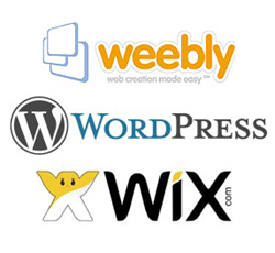 Weebly vs WordPress vs Wix