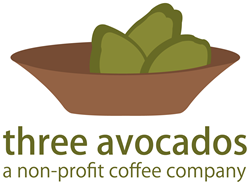 three avocados, a non-profit coffee company