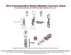 Commemorative Boston Survivors Sketch Design