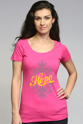 Design inspired by breast cancer awareness ' Finding a breast cancer cure starts with hope