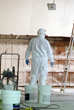 Applying ECOBOND LBP to lead impacted surfaces using a commercial paint sprayer