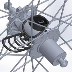 VeloComputer Magnet-less HUB sensor