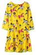 A-line Dress, Horse Dress, 3/4 Sleeve Dress