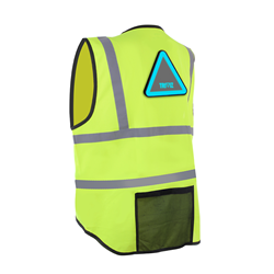 Yellow vest compatible with the Triviz Light Pack
