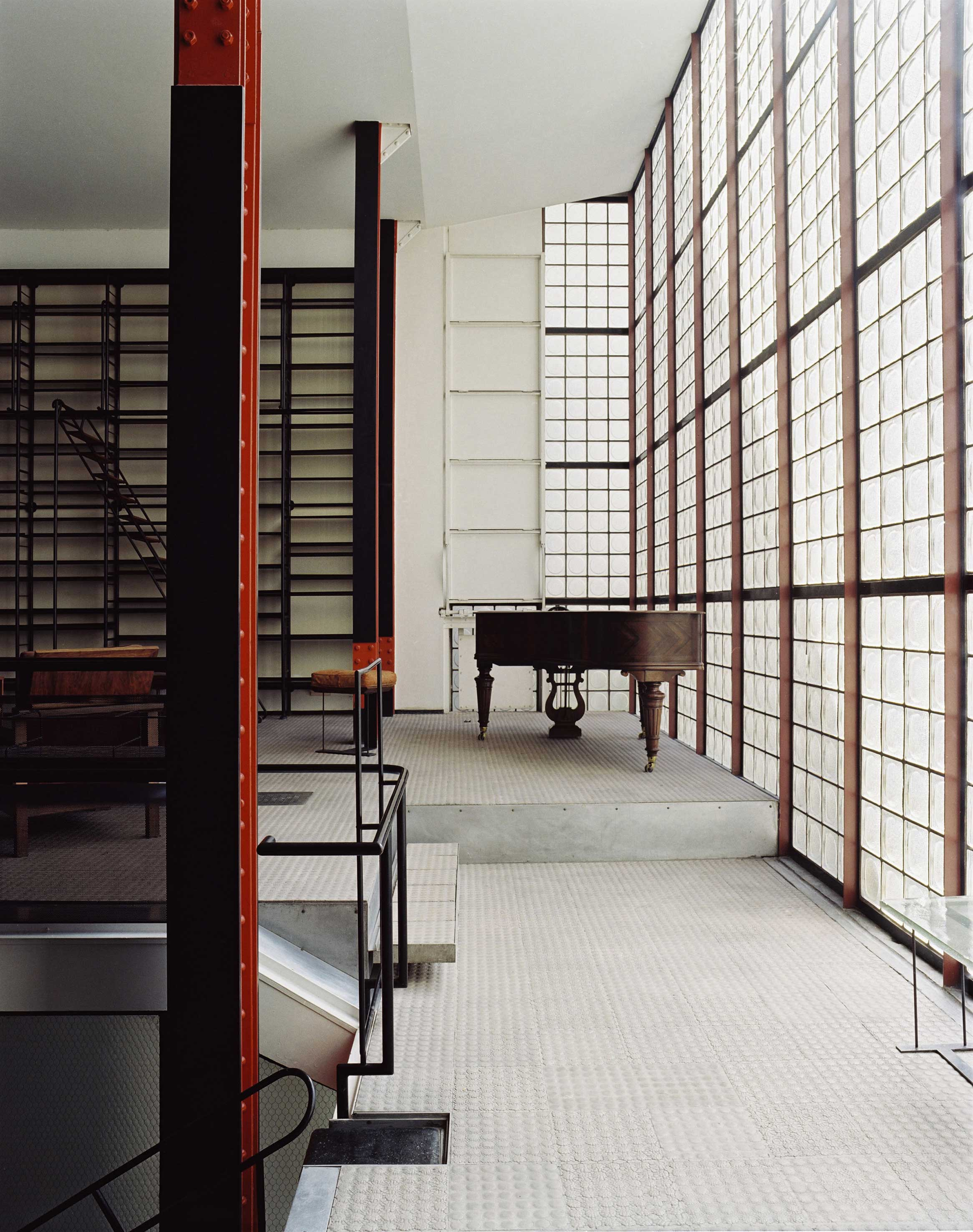 society of architectural historians offers unique opportunity to visit the maison de verre. Black Bedroom Furniture Sets. Home Design Ideas