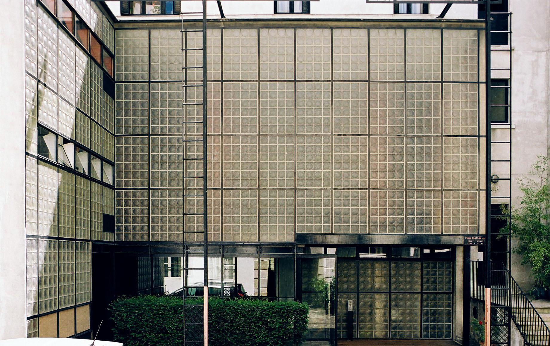 Society of architectural historians offers unique - Maison de verre paris visite ...
