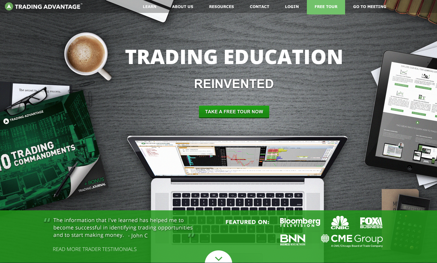 Online trading learning