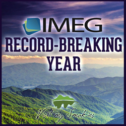 IMEG and VisitMySmokies.com celebrate a record breaking year in 2013
