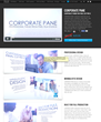 Announcing the Release of Corporate Pane Theme Template by Pixel Film...