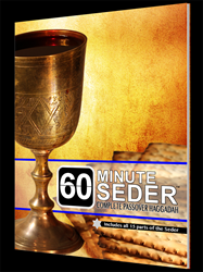 "The New ""60minute-Seder ...Complete Passover Haggadah"""