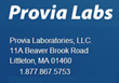 Grace Century's Project with Provia Laboratories to Enter Further U.S....