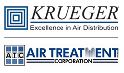 Krueger-HVAC and Air Treatment Corp. Logos