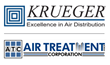 Krueger-HVAC Increases Engineering Presence with Air Treatment Corp. in Northern California