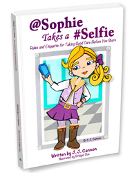 @Sophie Takes a #Selfie - Cover Art