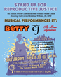 "Musicians BETTY & Madam Cj to Perform at the Feminist Health Center's Annual Awards Celebration, ""Stand Up for Reproductive Justice"" on Saturday, April 12th"