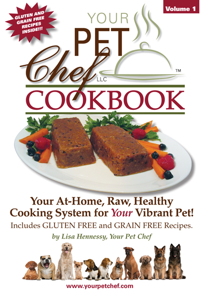 Celebrity pet chef lisa hennessy releases new your pet chef cookbook forumfinder Choice Image