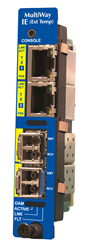 IE-iMcV-MultiWay Gigabit Ethernet Media Converter
