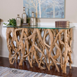 Teak Wood Console 25593 From Uttermost