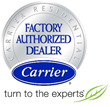 Air America Air Conditioning is Now a Carrier Certified Dealer